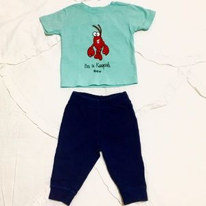 Carter's Baby Boy Lobster Outfit